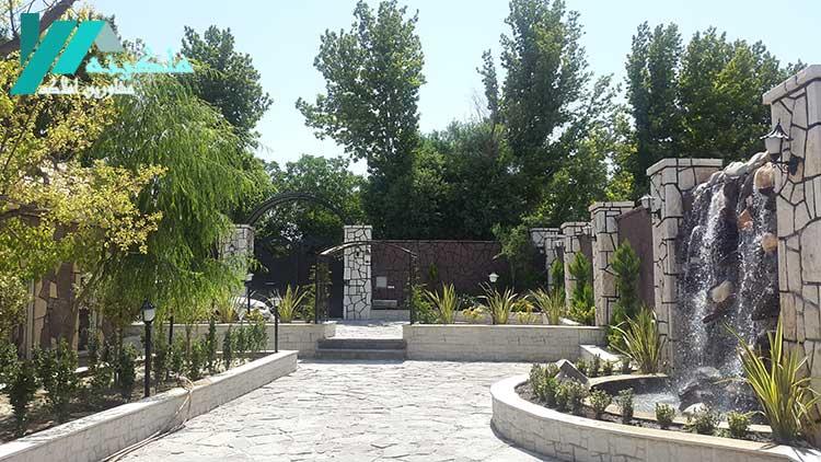 باغ ویلا مبله لوکس